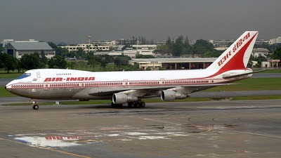 VT-EGA - Boeing 747-237B - Air India