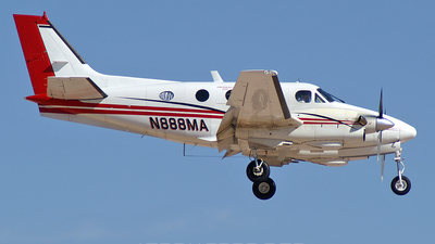 A picture of N888MA - Beech C90 King Air - [LJ656] - © Brad Campbell