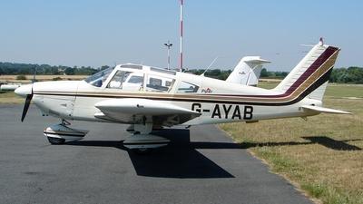 A picture of GAYAB - Piper PA28180 - [285804] - © Robert Beaver