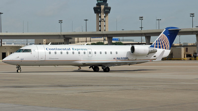 N650BR - Bombardier CRJ-200ER - Continental Express (Chautauqua Airlines)