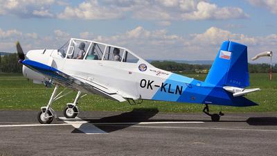 A picture of OKKLN - Zlin Z37A2 Cmelak - [2419] - © Jan Menzl