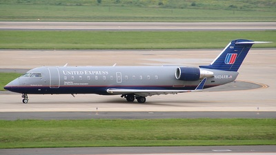 N404AW - Bombardier CRJ-200LR - United Express (Air Wisconsin)