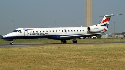 G-EMBS - Embraer ERJ-145EU - British Airways (CityFlyer Express)
