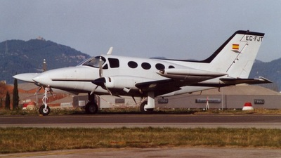 EC-FJT - Cessna 414 - Private