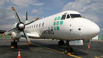 G-BGMO - Hawker Siddeley HS-748 Series 2A - Emerald Airways