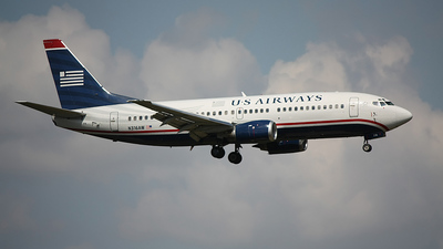 N316AW - Boeing 737-3S3 - US Airways