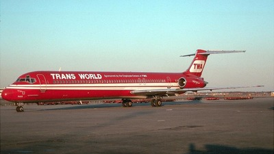 EI-BWD - McDonnell Douglas MD-83 - Trans World Airlines (TWA)