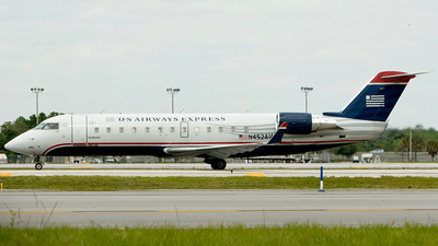 N452AW - Bombardier CRJ-200LR - US Airways Express (Air Wisconsin)