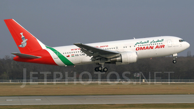 HA-LHB - Boeing 767-27G(ER) - Oman Air (Malév Hungarian Airlines)