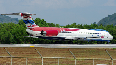 HS-OMA - McDonnell Douglas MD-82 - One-Two-GO by Orient Thai