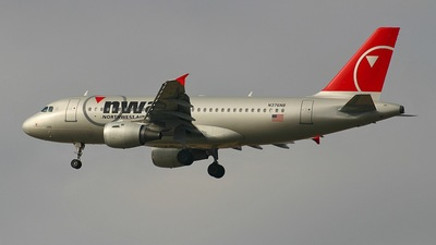 N376NB - Airbus A319-114 - Northwest Airlines