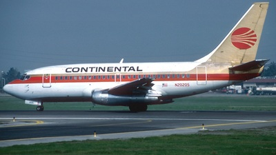 N20205 - Boeing 737-130 - Continental Airlines