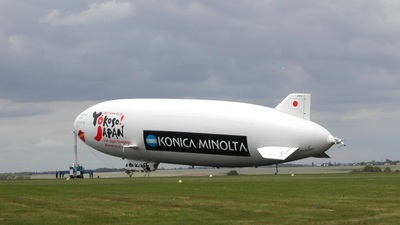 JA101Z - Zeppelin NT N07 - Nippon Airship Corporation (NAC)