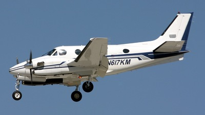 N617KM - Beechcraft C90A King Air - Private
