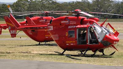 ZK-HYX - MBB-Kawasaki BK117B-2 - Rick Lucas Helicopters