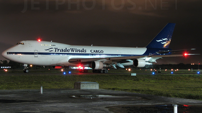 N923FT - Boeing 747-2U3B(SF) - TradeWinds Airlines