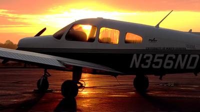 N356ND - Piper PA-28-161 Warrior III - University Of North Dakota