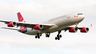 G-VELD - Airbus A340-313X - Virgin Atlantic Airways