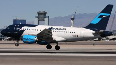 XA-UBT - Airbus A318-111 - Mexicana