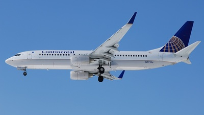 N77296 - Boeing 737-824 - Continental Airlines