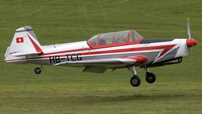 HB-TCG - Zlin 526F - Private