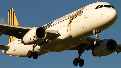 VH-VNJ - Airbus A320-232 - Tiger Airways