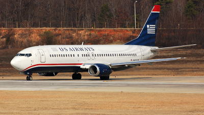 N450UW - Boeing 737-4B7 - US Airways