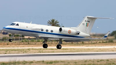 K2961 - Gulfstream SRA-1 - India - Air Force