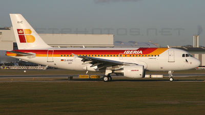 D-AVWC - Airbus A319-111 - Iberia