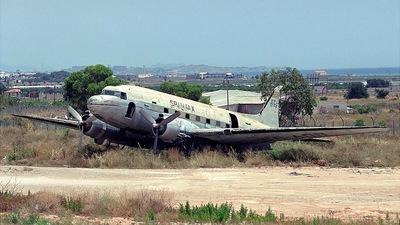 EC-AQB - Douglas DC-3 - Spantax