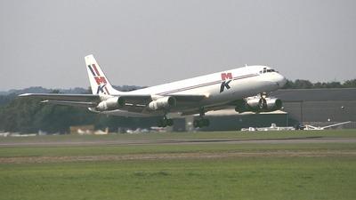 9G-MKE - Douglas DC-8-55(F) - MK Airlines