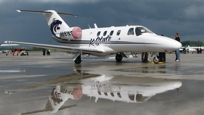 N881KS - Cessna 525 CitationJet 1 - Kansas State University