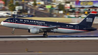 N121UW - Airbus A320-214 - US Airways