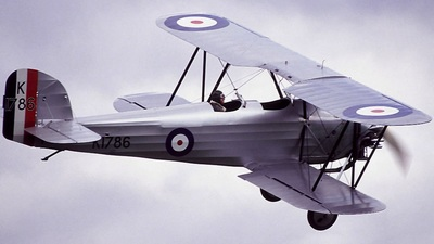 G-AFTA - Hawker Tomtit - Private
