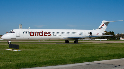 LV-BNI - McDonnell Douglas MD-83 - Andes Líneas Aéreas