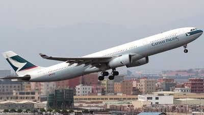 B-HLG - Airbus A330-342 - Cathay Pacific Airways