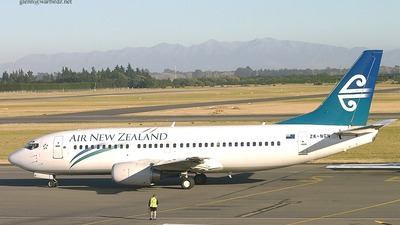 ZK-NGN - Boeing 737-33S - Air New Zealand