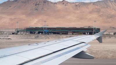 CC-CVF - Airbus A318-121 - LAN Airlines