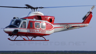 I-VFOE - Agusta-Bell AB-412 Griffon - Italy - Vigili del Fuoco