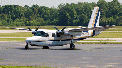 A picture of N443WA - Aero Commander 500B - Central Airlines - © Nick Michaud
