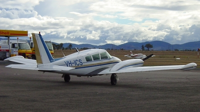 VH-ICS - Piper PA-39-160 Twin Comanche C/R - Private