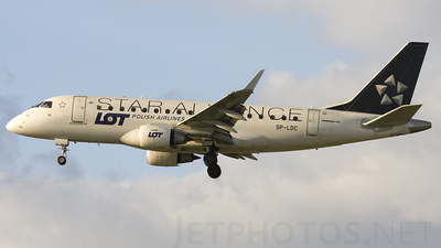 SP-LDC - Embraer 170-100STD - LOT Polish Airlines