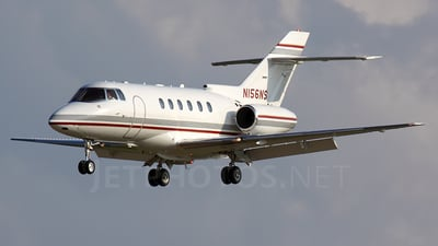 N156NS - Raytheon Hawker 800XP - Private