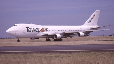 N607PE - Boeing 747-238B - Tower Air