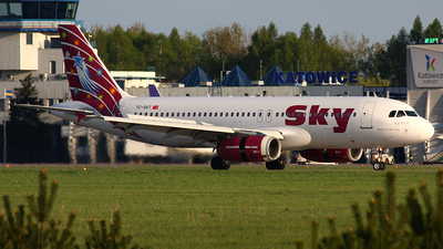 TC-SKT - Airbus A320-232 - Sky Airlines