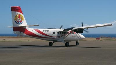 F-OIQF - De Havilland Canada DHC-6-300 Twin Otter - Air Tahiti