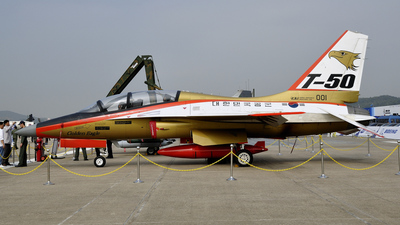 001 - KAI T-50 Golden Eagle - South Korea - Air Force