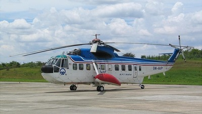 9M-AVP - Sikorski S-61 - MHS Aviation