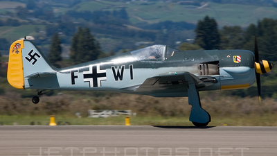 ZK-FWI - War Aircraft Replicas Focke-Wulf Fw190 - Private
