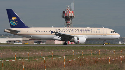HZ-AS14 - Airbus A320-214 - Saudi Arabian Airlines